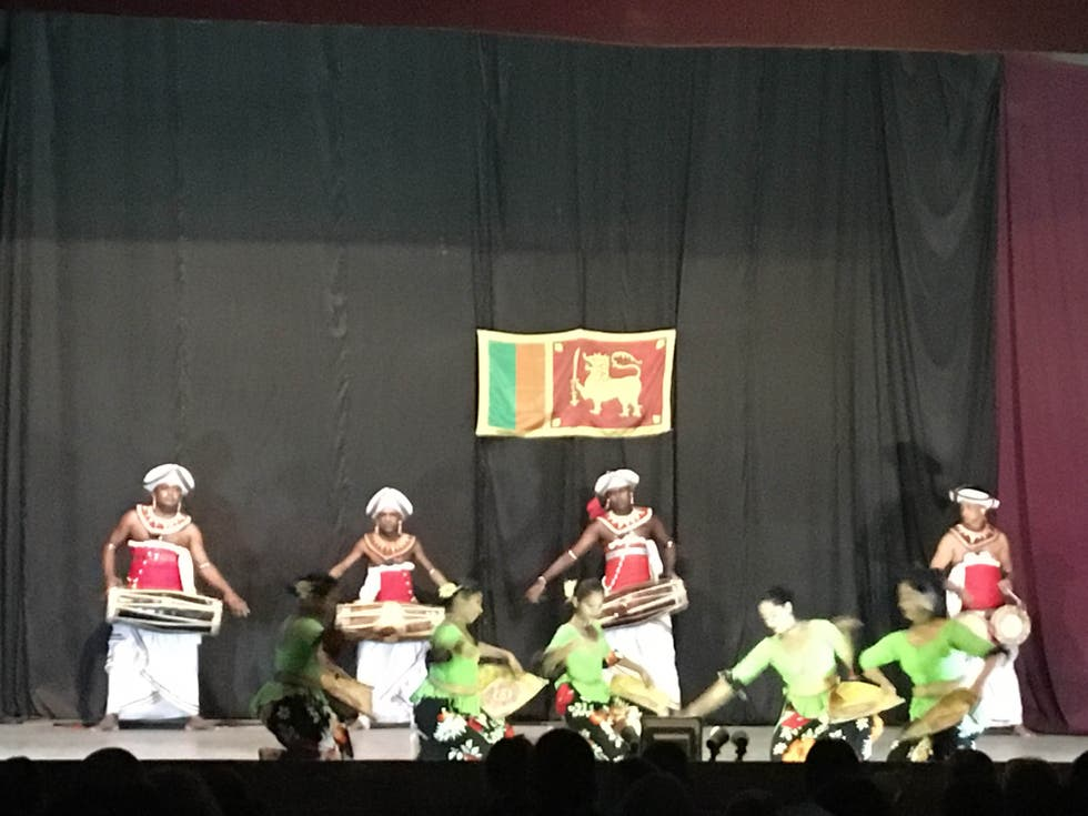 Escenario en Kandyan Dance Performance