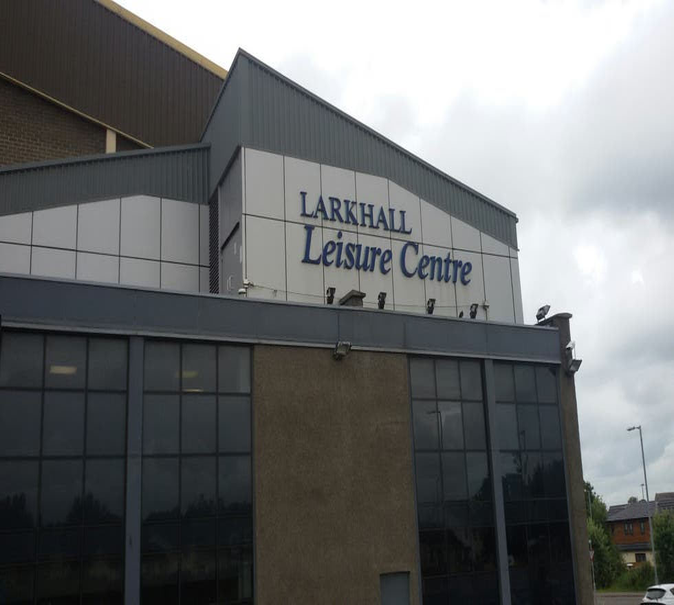 Señal en Larkhall