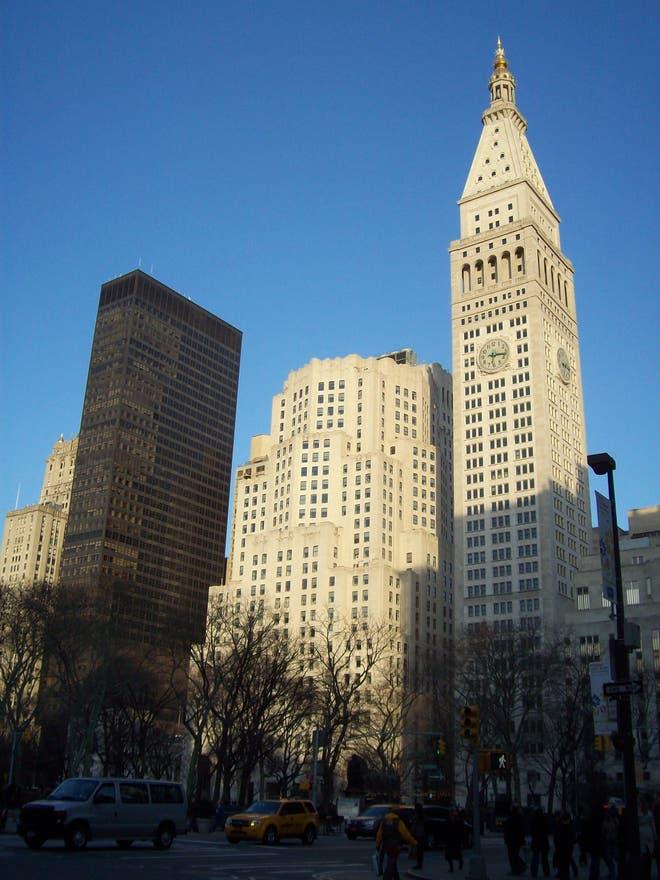 Skyline en Madison Square Park