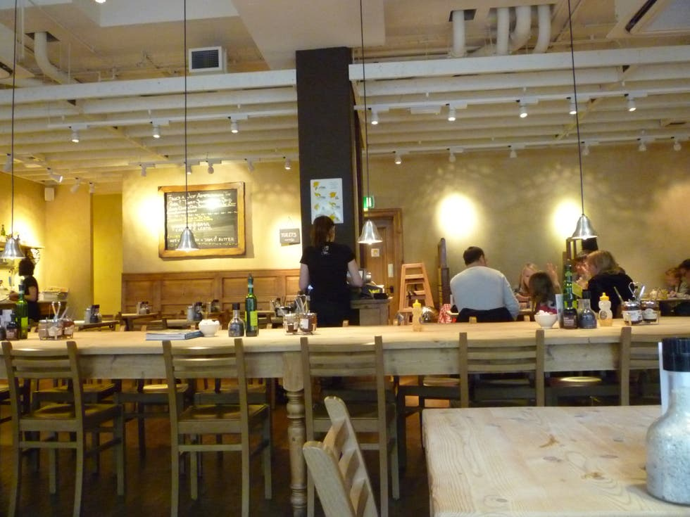 Restaurante en Le Pain Quotidien