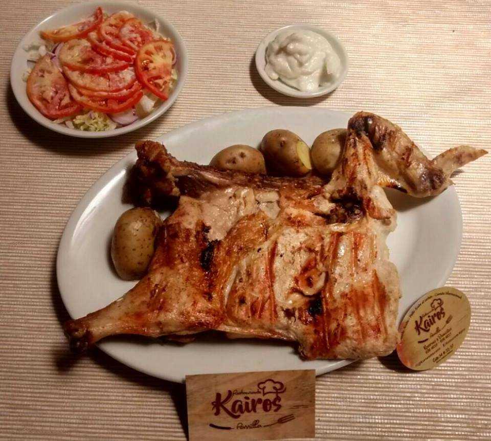 Carne en Restaurante Kairos Parrilla