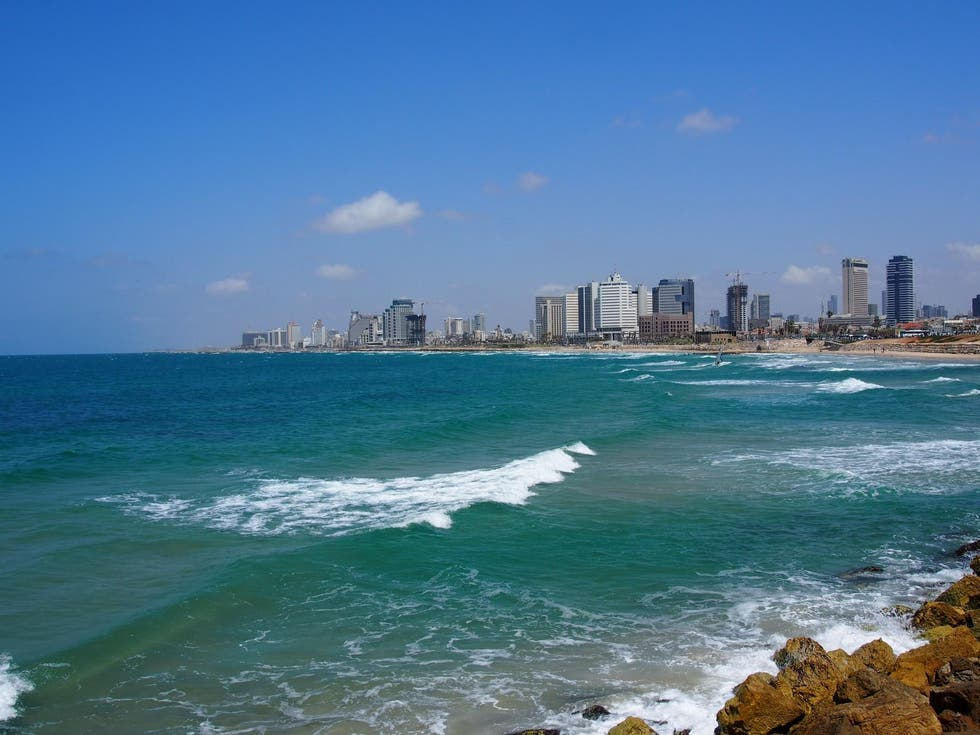 Coast in Israel