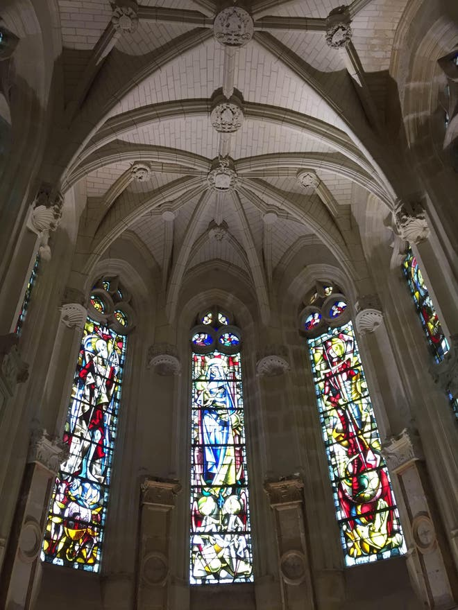 Stained Glass in Civray-de-Touraine