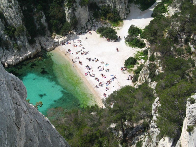 River in Cassis