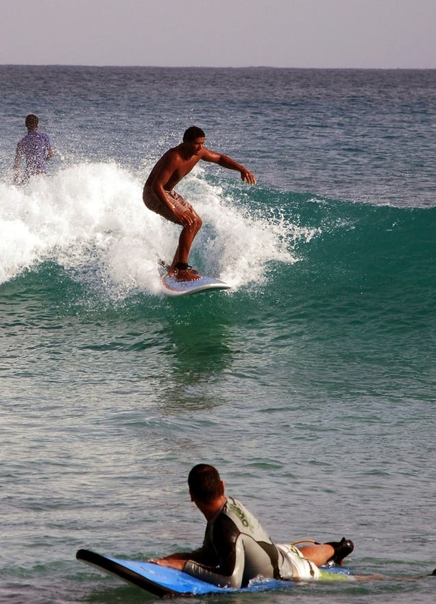 Surf en Ilha do Sal