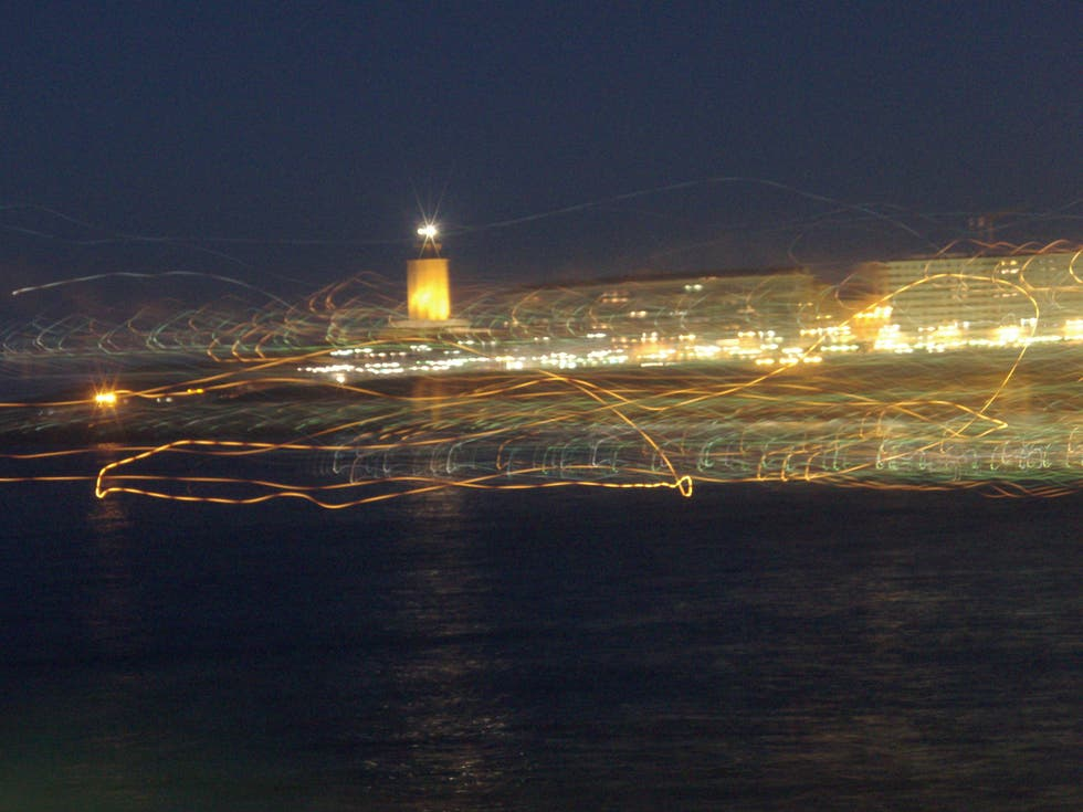 Night in Tower of Hercules
