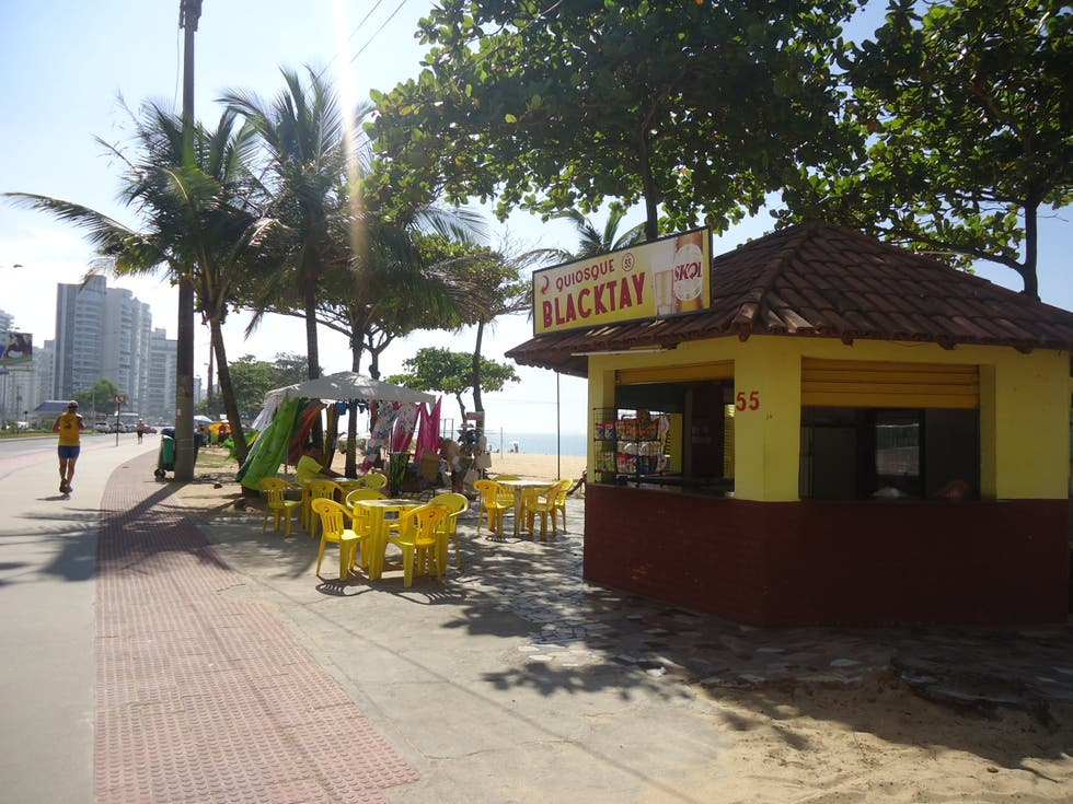 Restaurante en Playa de Itaparica