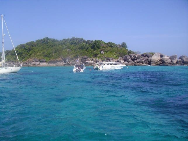 Playa en Islas Similan