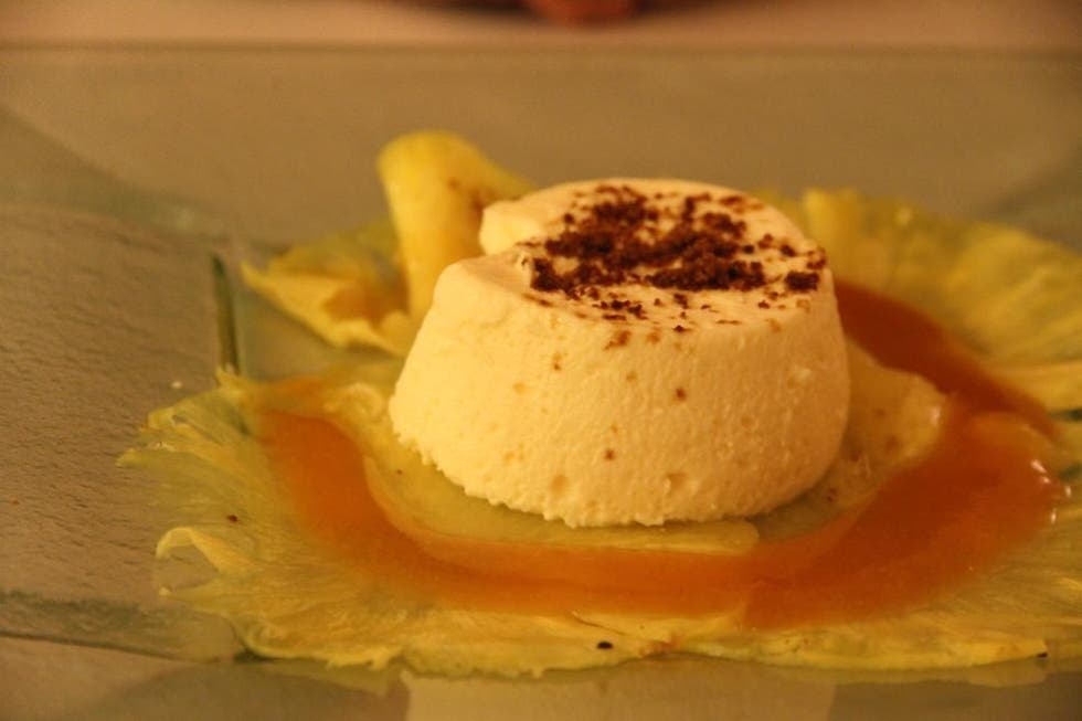 Gelato a El Celler de l\'Aspic Restaurant