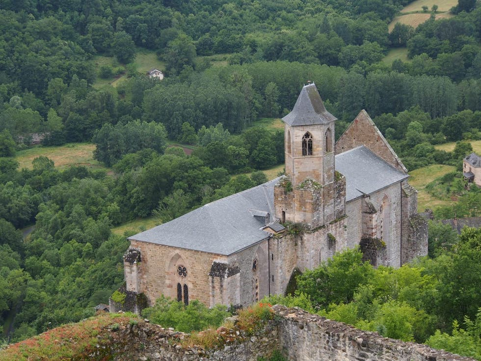 Abbey in Najac