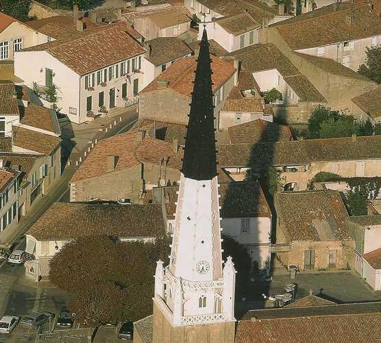 Foto aérea en Ars-en-Ré