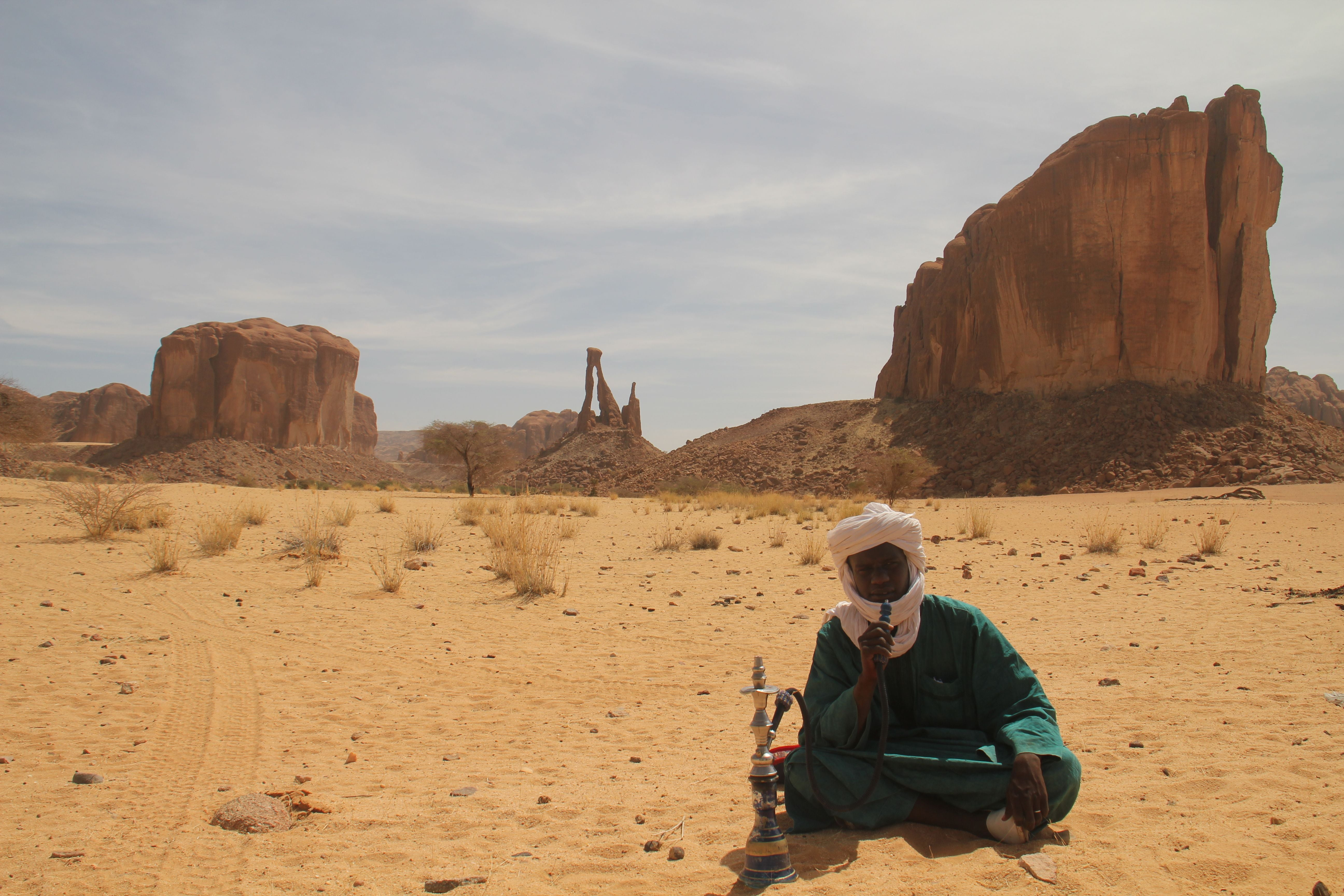 Landscape in Chad