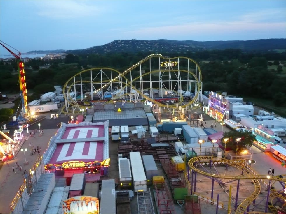 Amusement Park in Saint-Tropez