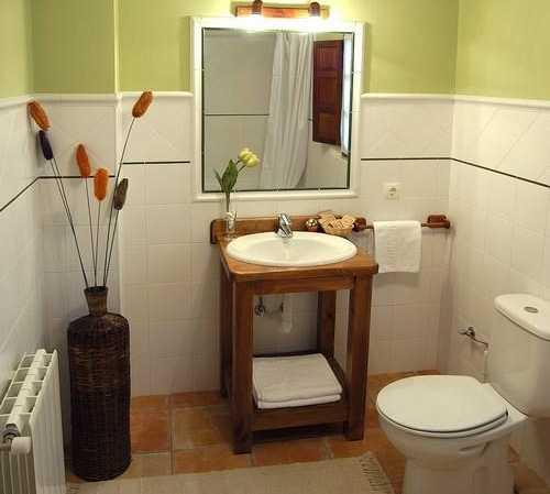 Baño en Casa Rural Posada San Pedro