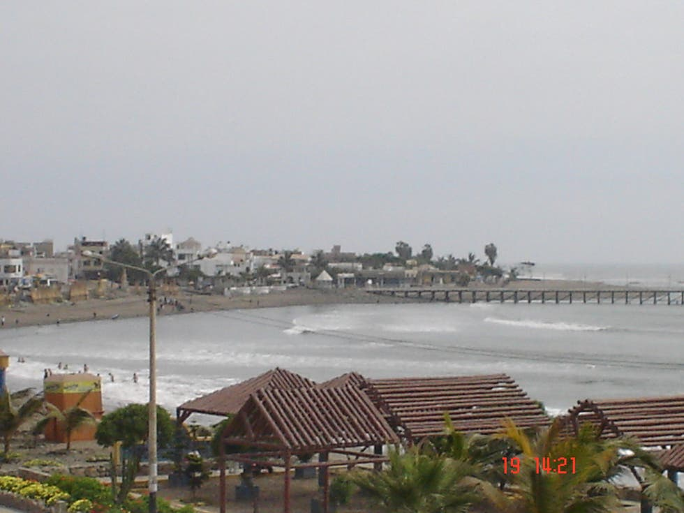 Playa en Trujillo