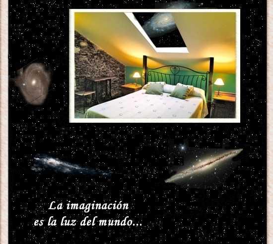 Universo en Casa Rural A Vía Láctea