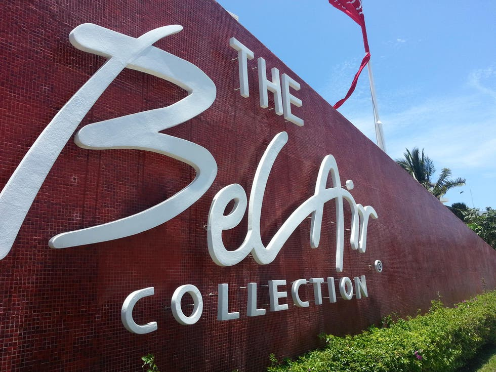 Logotipo en Bel Air Collection Resort and Spa Cancun