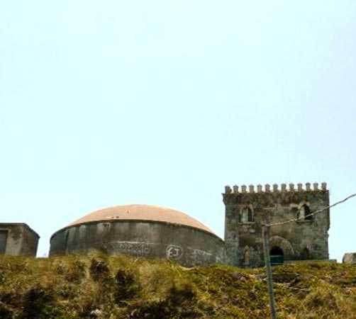 Arco en Castillo de Santa Catalina
