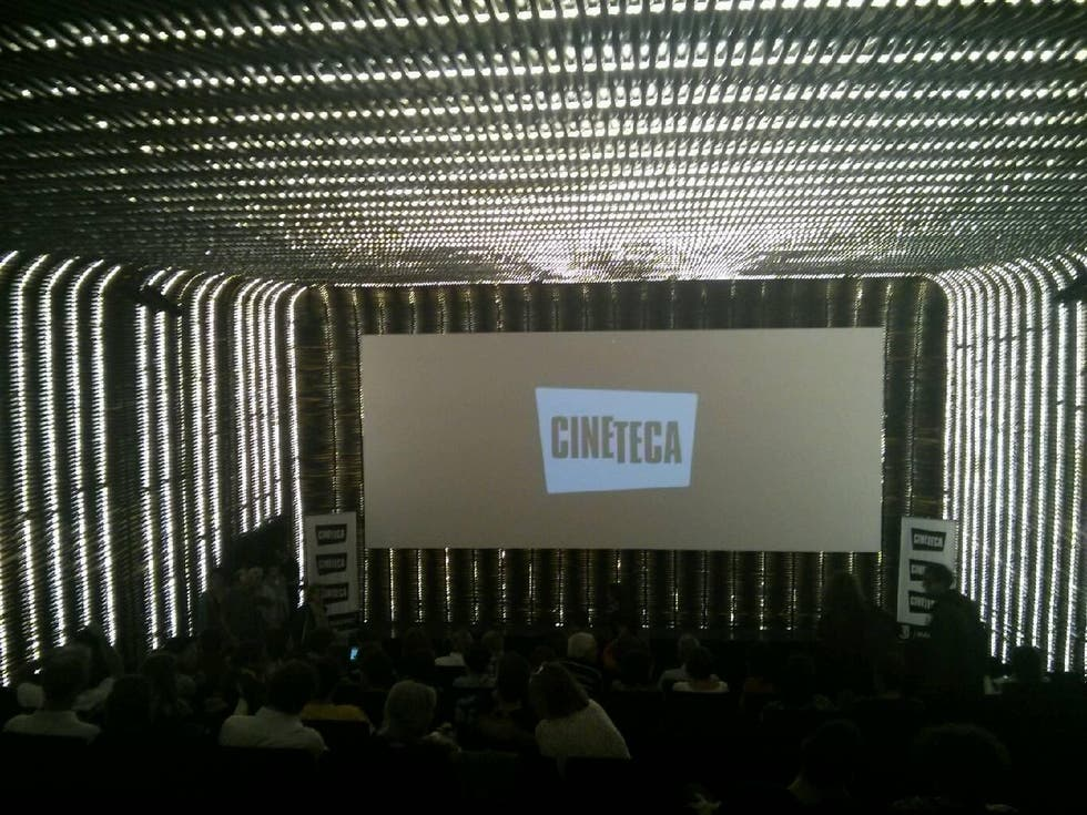Auditorio en Cineteca, Matadero