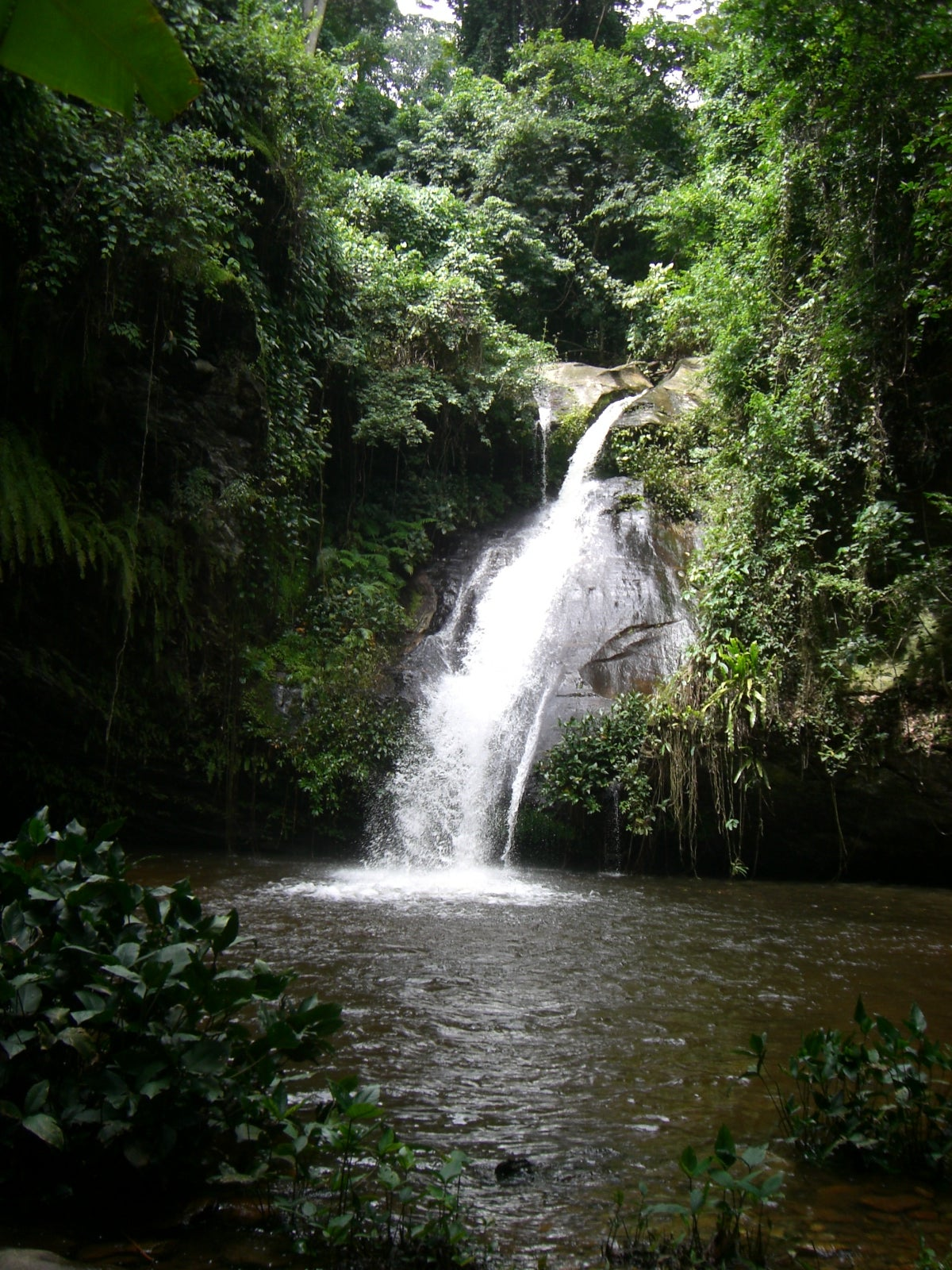 Waterfall in Togo