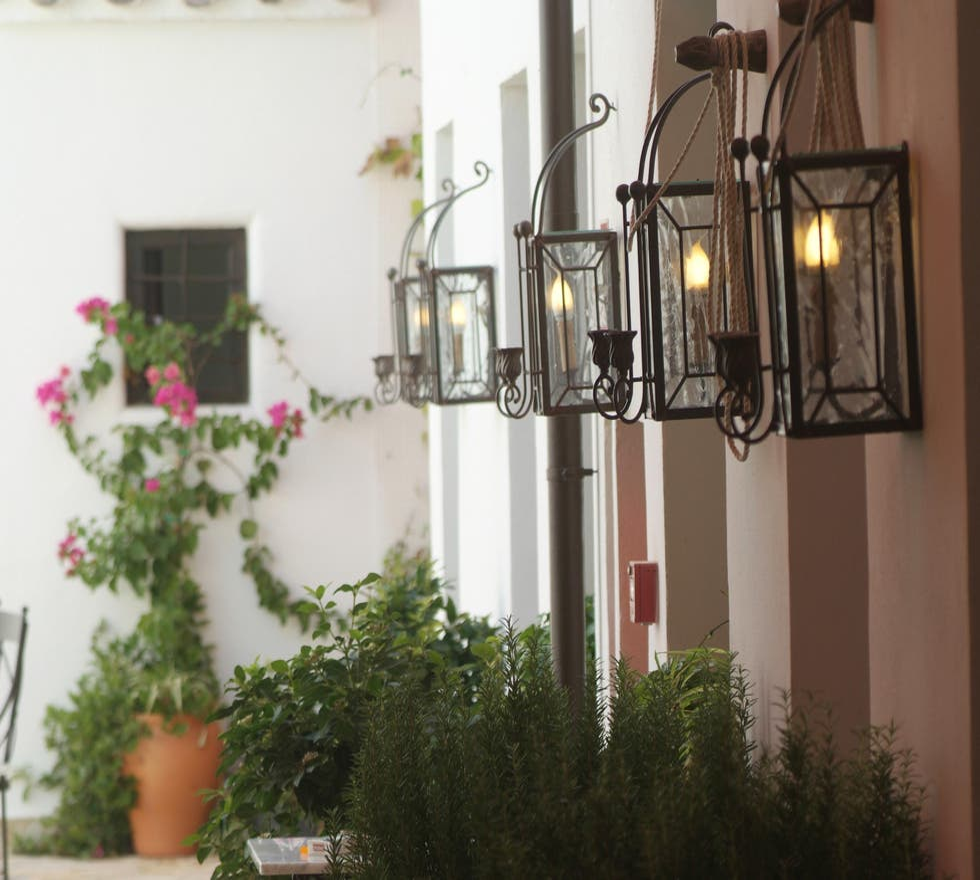 Floristería en Hotel La Casona de Calderón