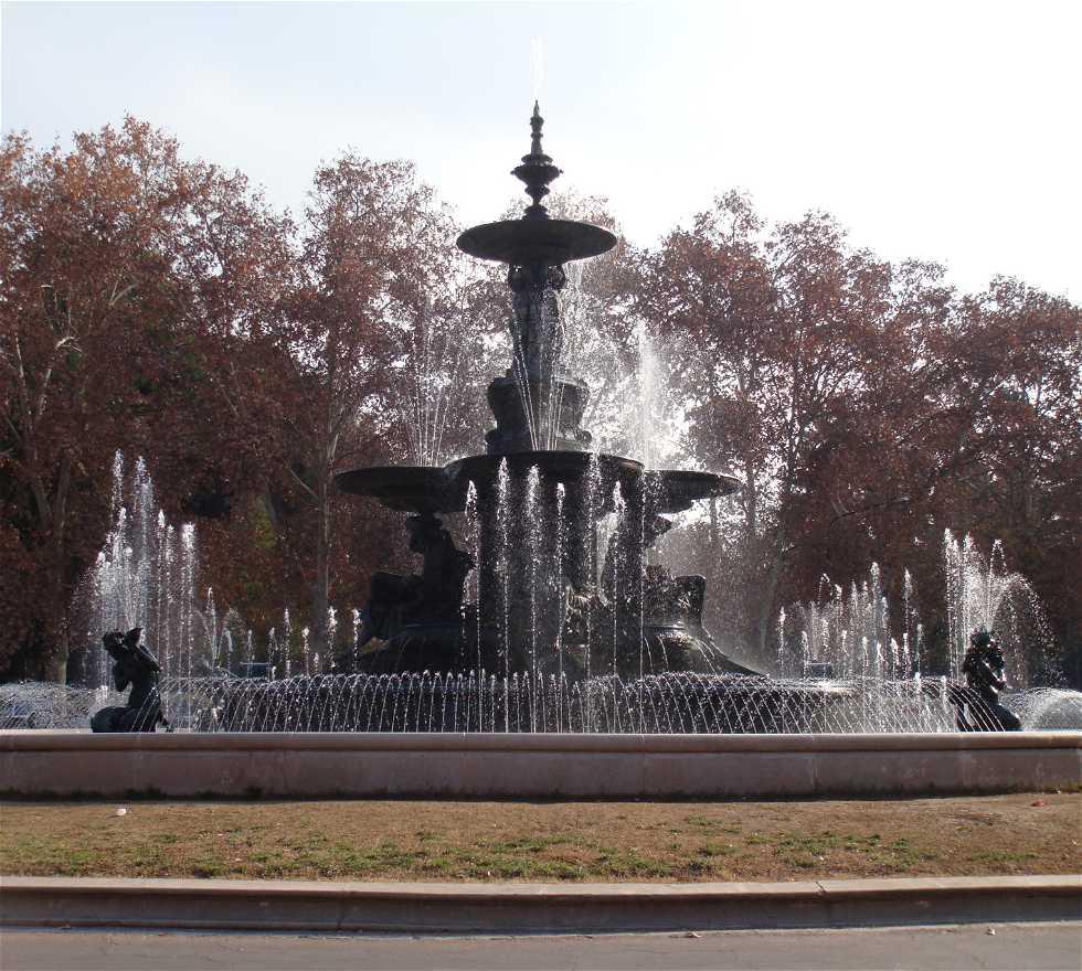 Memorial en Parque General San Martín