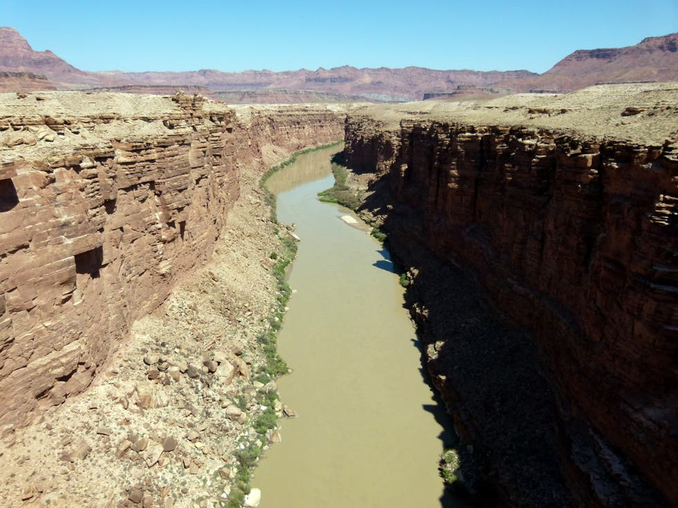 Canal en Historic Navajo Bridge