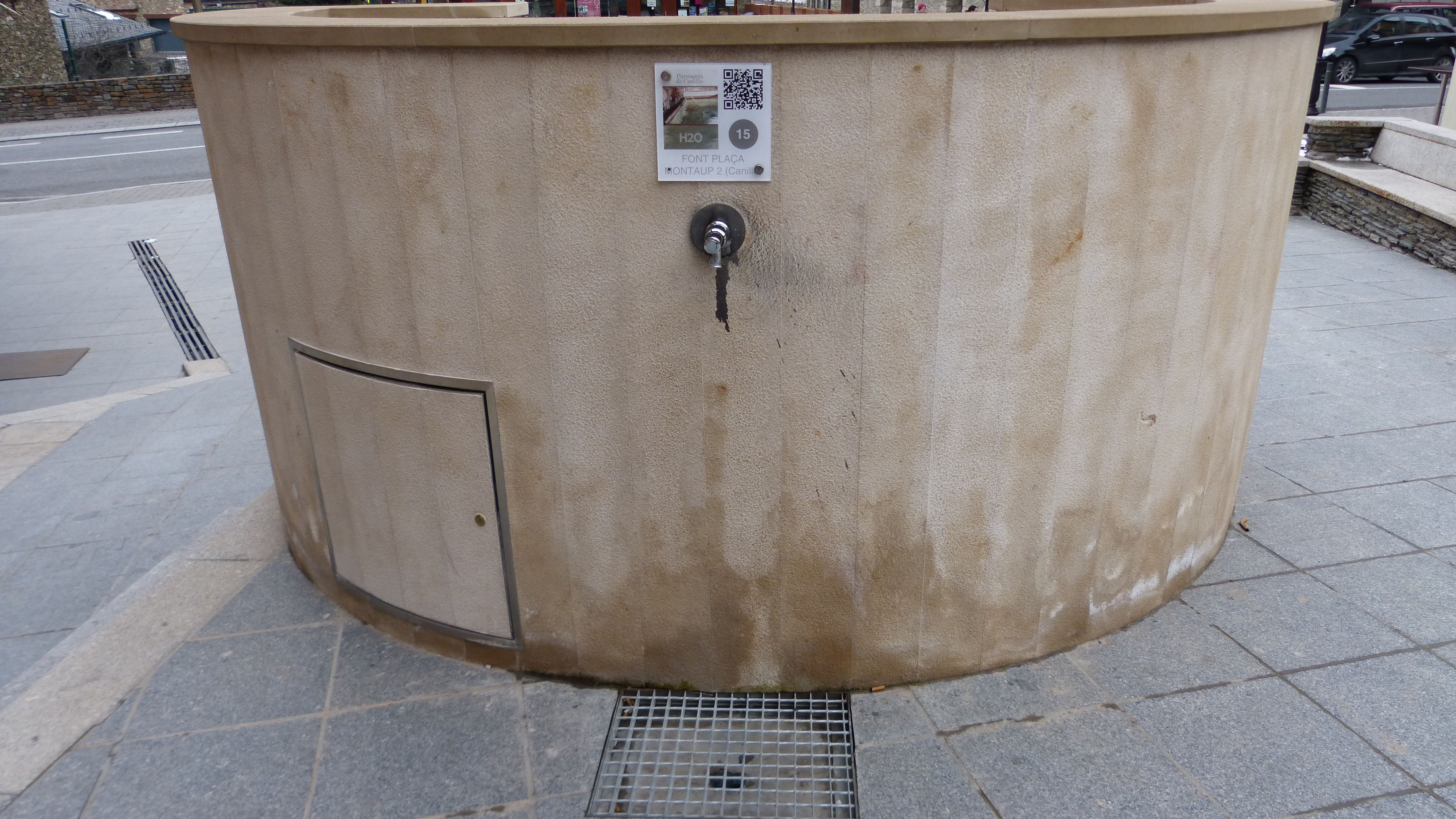 Barrel in Fuente Montaup
