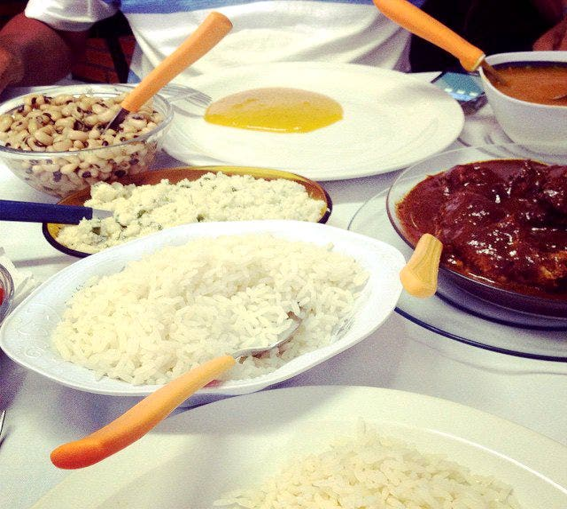 Comida en Restaurante Carambola