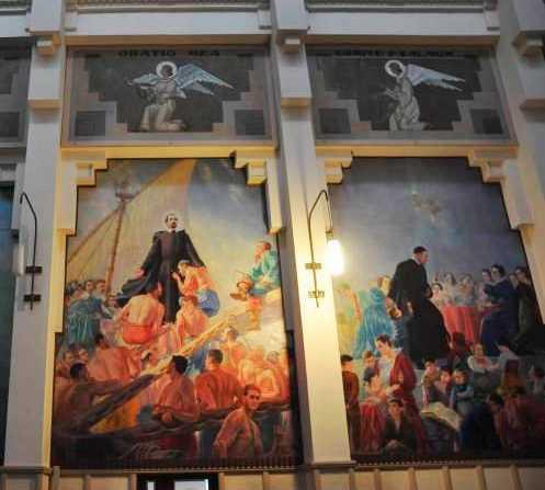 Mural en Iglesia de La Milagrosa