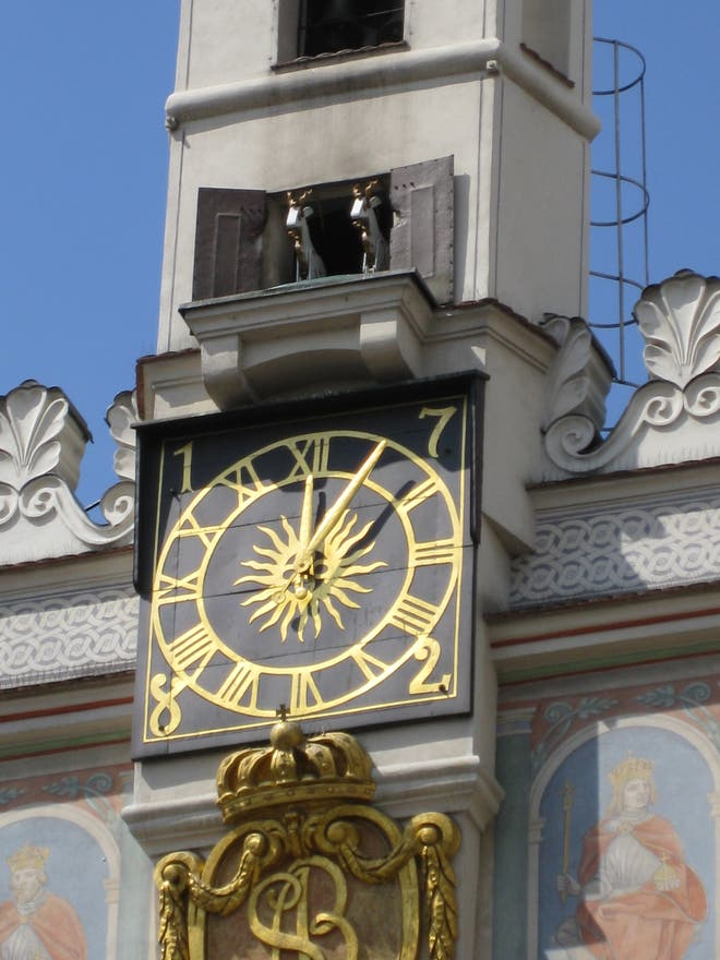 Clock Tower in Poznan