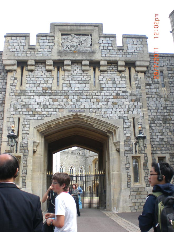 Arco en Castillo de Windsor