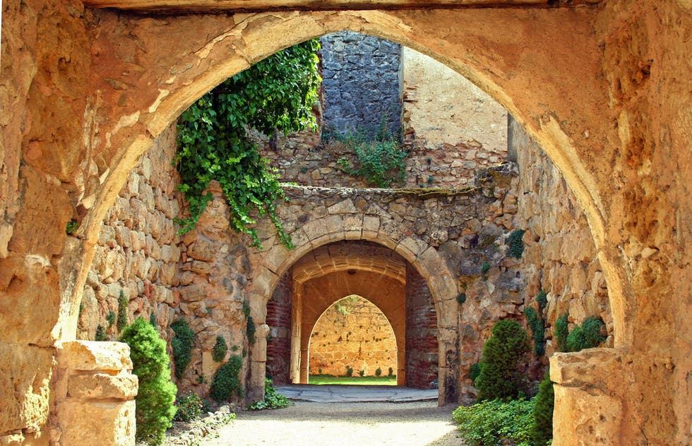 Arch in Pedraza