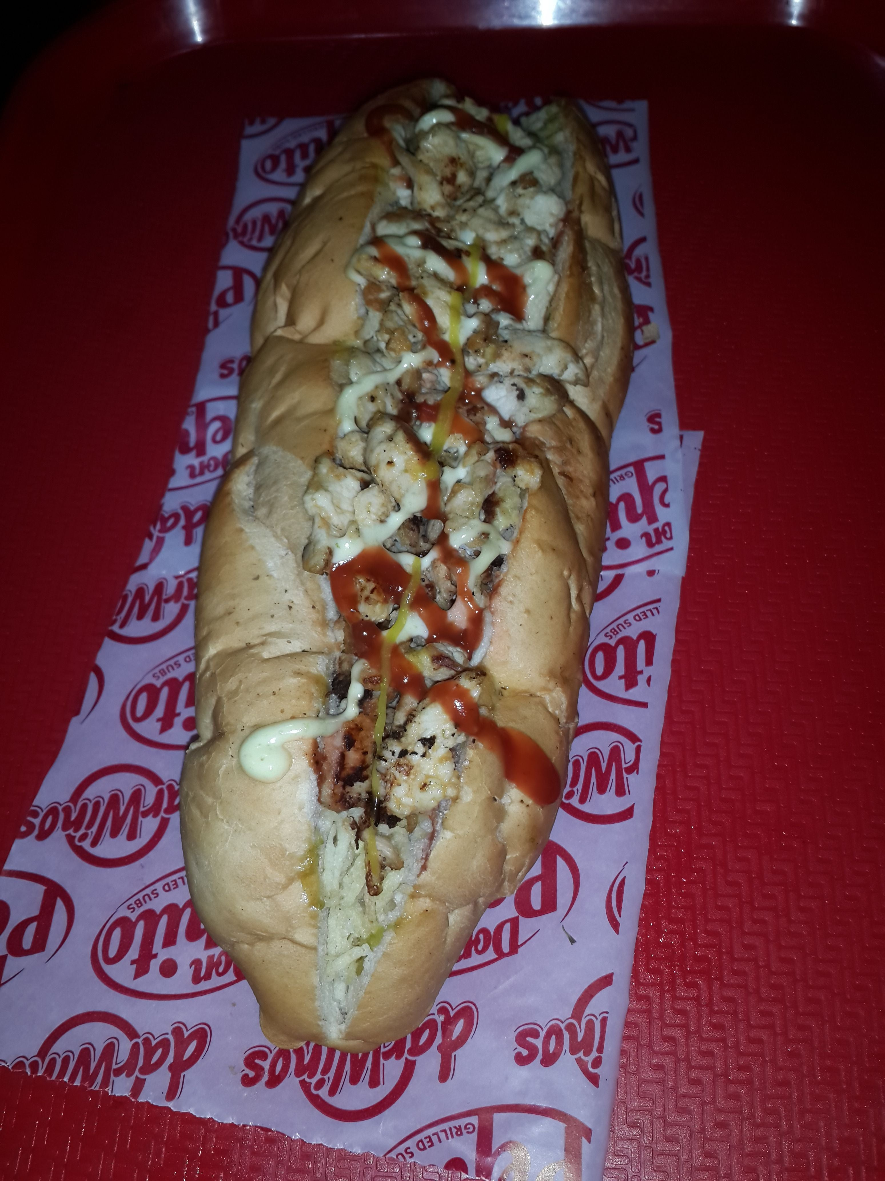 Meat in Don Pepito Grilled Subs