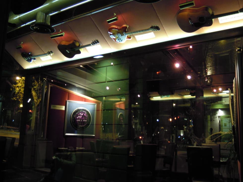 Restaurante en Hard Rock Cafe Rome