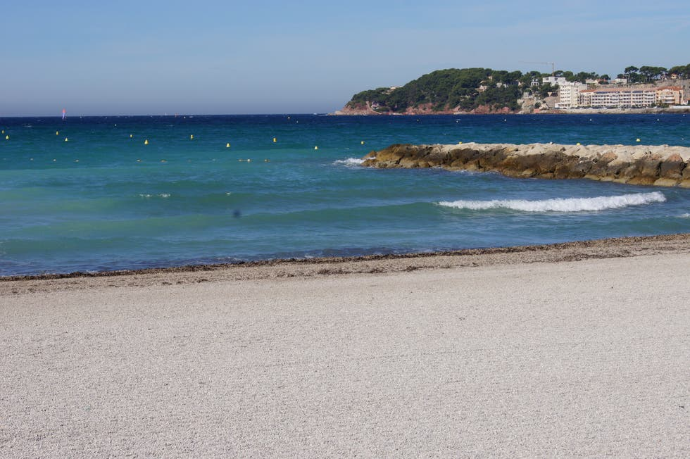 Beach in Six-Fours-les-Plages