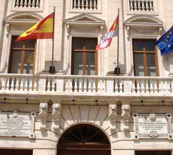 Plaza en Palacio de la Diputación