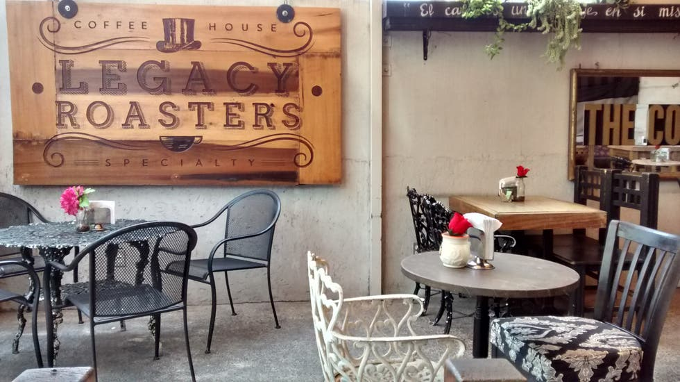Restaurante en Legacy Roasters Coffee