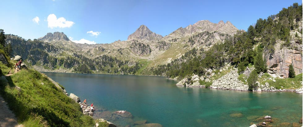 Estany Gerber - Pirineo