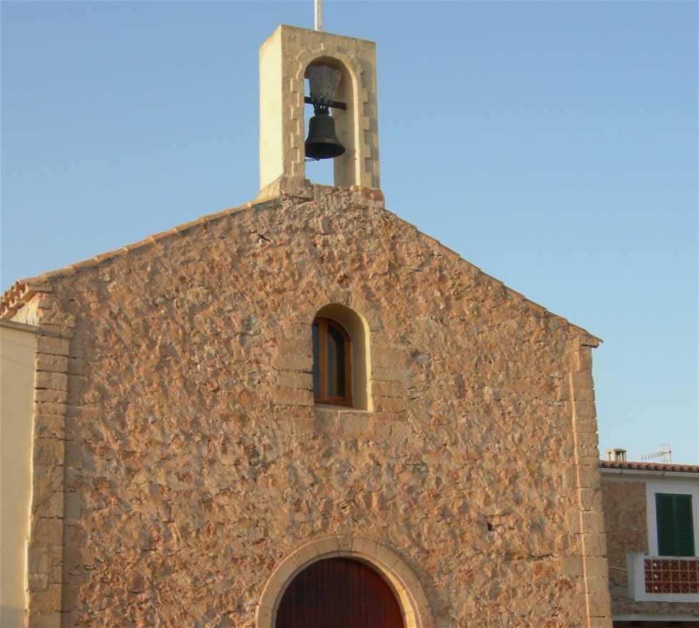 Fachada en Sant Ferran de Ses Roques