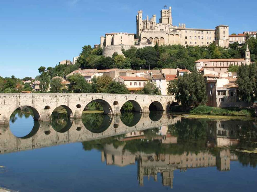 Reflection in Béziers