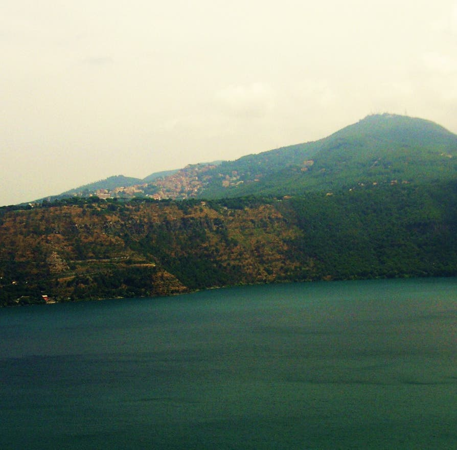 Lake in Castel Gandolfo