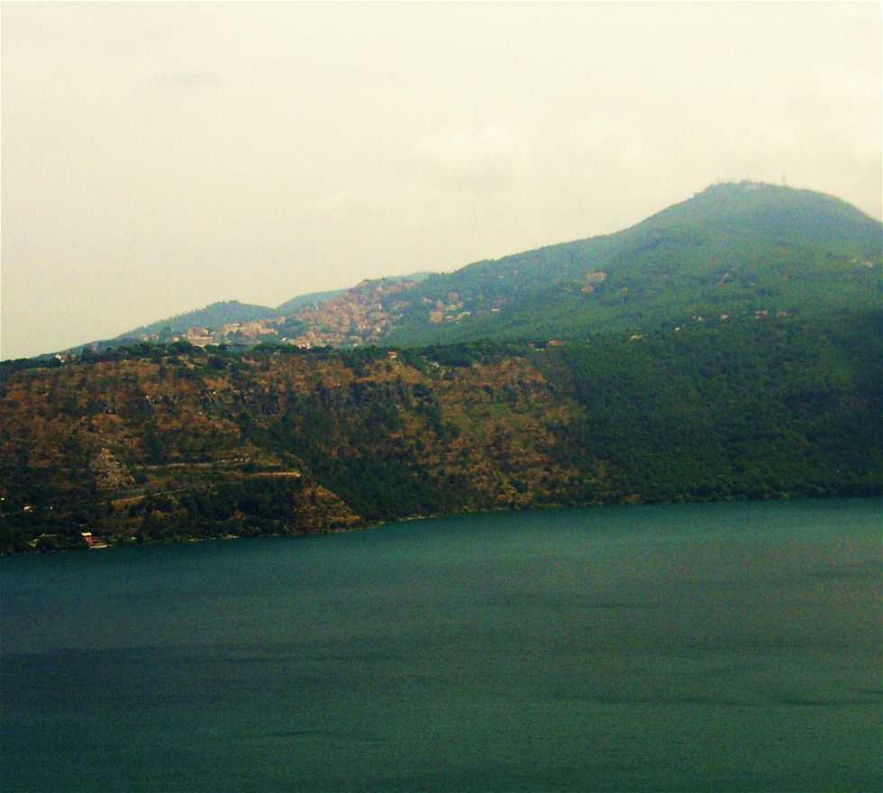 Lago em Castel Gandolfo