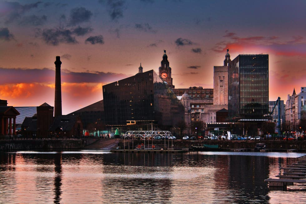 Atardecer en Royal Albert Dock