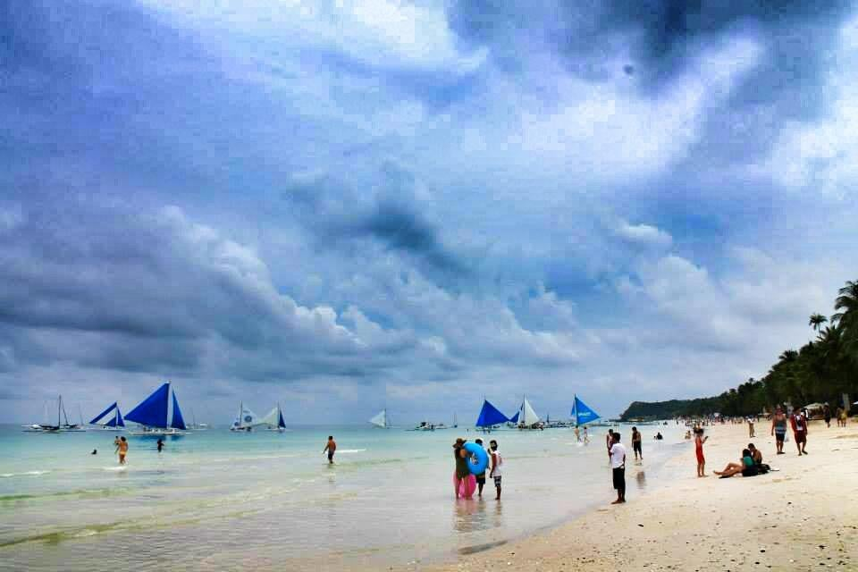 Beach in Philippines