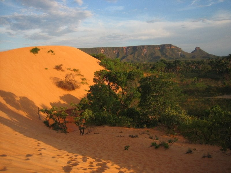 Sand in Tocantins