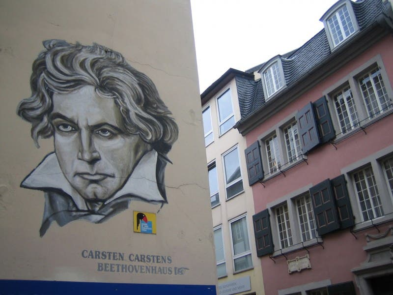 Pared en Casa de Beethoven