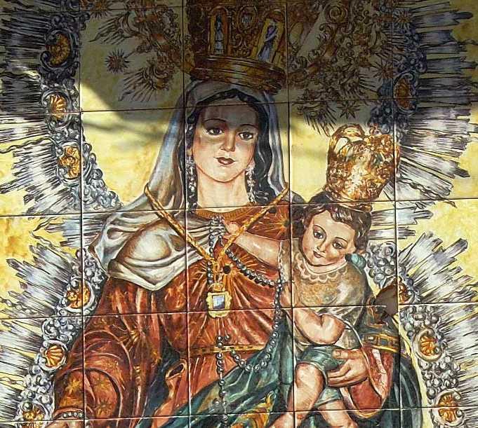 Historia antigua en Parroquia de Nuestra Señora del Rosario