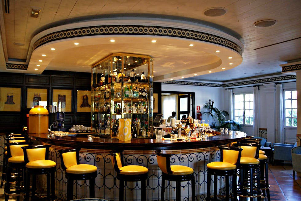 Bar en Seaside Grand Hotel Residencia - Gran Lujo