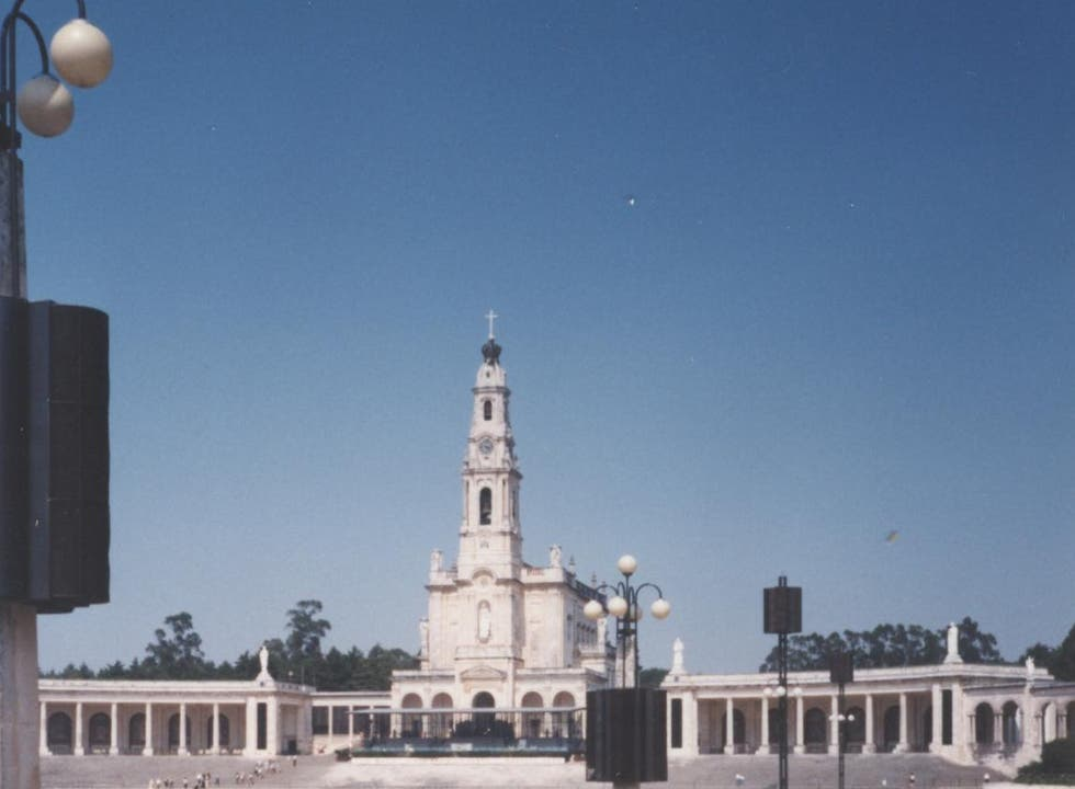 Town in Basilica of Our Lady of the Rosary of Fatima